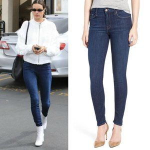 Mother The Looker Skinny Jean Clean Sweep M7
